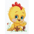 Чудесная игла 19-20 Петушок - золотой гребешок