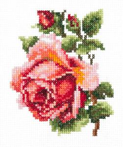 Набор для вышивания 28-08 Розочка Набор для вышивания «Чудесная игла» 28-08 Розочка