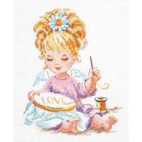 Чудесная игла 33-24 Маленькая рукодельница!