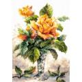 Чудесная игла 40-79 Жёлтые розы