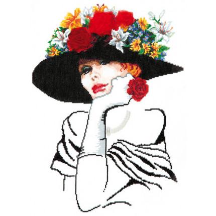 Набор для вышивания 83-02 Леди Шарм Набор для вышивания «Чудесная игла» 83-02 Леди Шарм
