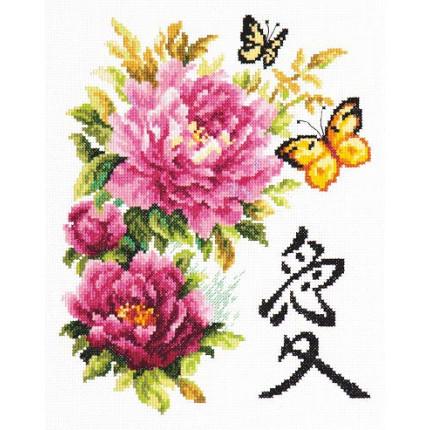 Набор для вышивания 87-01 Любовь Набор для вышивания «Чудесная игла» 87-01 Любовь