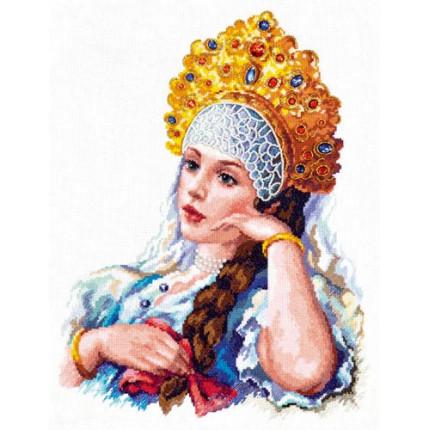Набор для вышивания 90-01 Моя отрада Набор для вышивания «Чудесная игла» 90-01 Моя отрада!