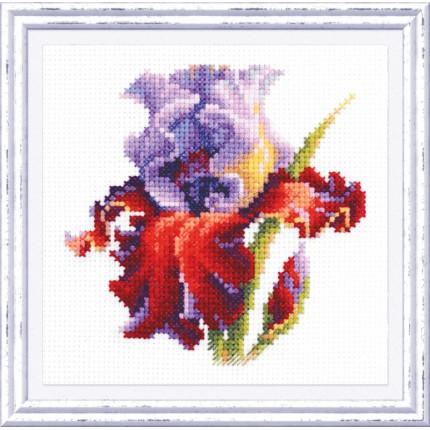 Набор для вышивания Ирис Набор для вышивания «Чудесная игла» 150-011 Ирис