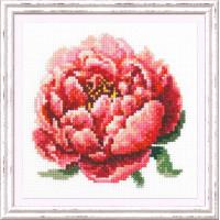Чудесная игла Красный пион Набор для вышивания «Чудесная игла» 150-009 Красный пион