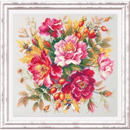 """Набор для вышивания Магия цветов Набор для вышивания «Чудесная игла» 140-002 Магия цветов """" Шиповник"""""""