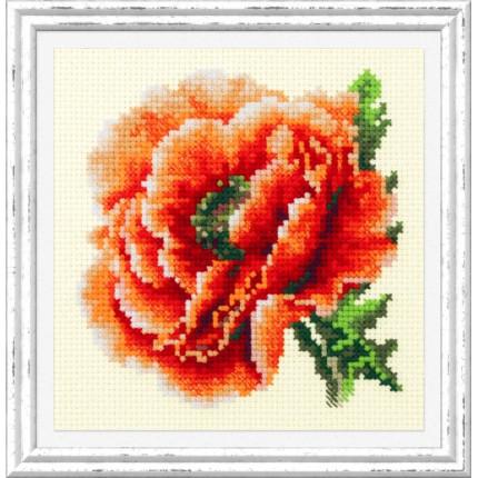 Набор для вышивания Мак Набор для вышивания «Чудесная игла» 150-012 Мак