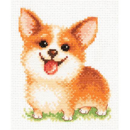 Набор для вышивания Набор для вышивания «Чудесная игла» 16-18 Улыбашка Набор для вышивания «Чудесная игла» 16-18 Улыбашка