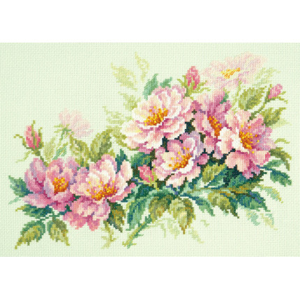 Набор для вышивания Набор для вышивания «Чудесная игла» 40-74 Розовый шиповник Набор для вышивания «Чудесная игла» 40-74 Розовый шиповник