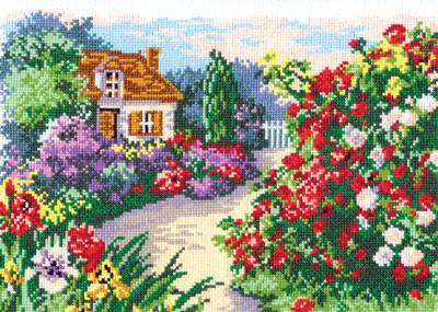 Набор для вышивания Набор для вышивания «Чудесная игла» 52-03 Цветущий сад Набор для вышивания «Чудесная игла» 52-03 Цветущий сад