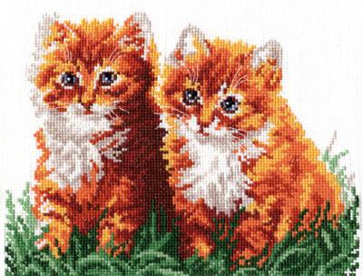 Набор для вышивания Набор для вышивания «Чудесная игла» 58-05 Рыжие друзья Набор для вышивания «Чудесная игла» 58-05 Рыжие друзья