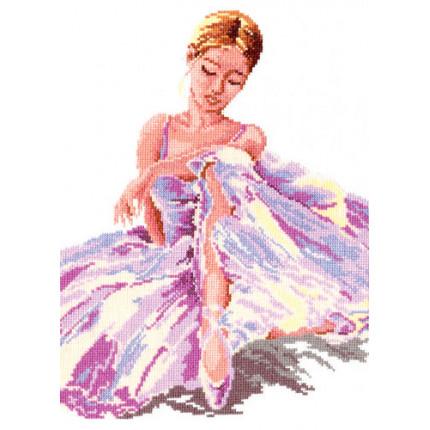 Набор для вышивания Набор для вышивания «Чудесная игла» 65-01 Балерина Набор для вышивания «Чудесная игла» 65-01 Балерина