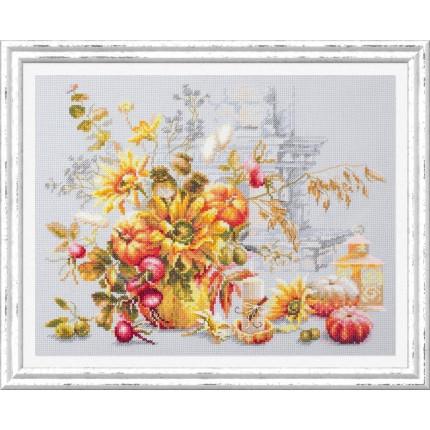 Набор для вышивания Осенняя импровизация Набор для вышивания «Чудесная игла» 120-012 Осенняя импровизация