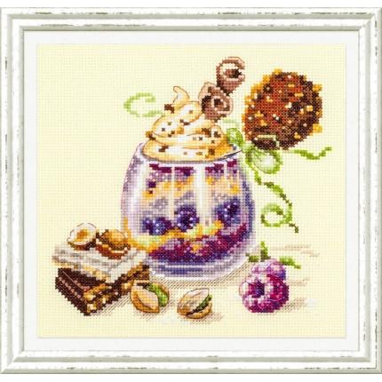 Набор для вышивания Шоколадный десерт Набор для вышивания «Чудесная игла» 120-080 Шоколадный десерт
