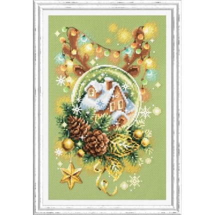 Набор для вышивания Светлое Рождество Набор для вышивания «Чудесная игла» 100-245 «Светлое рождество»