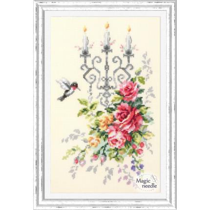 Набор для вышивания Торжественный этюд Набор для вышивания «Чудесная игла» 100-202 Торжественный этюд