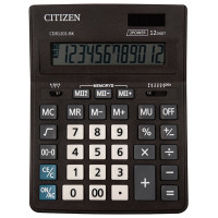 CITIZEN CDB1201BK Калькулятор настольный CITIZEN BUSINESS LINE CDB1201BK (205x155 мм), 12 разрядов, двойное питание