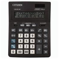 CITIZEN CDB1401BK Калькулятор настольный CITIZEN BUSINESS LINE CDB1401BK (205x155 мм), 14 разрядов, двойное питание