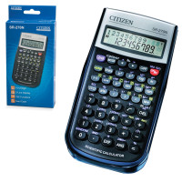 CITIZEN SR-270N Калькулятор инженерный CITIZEN SR-270N (154х80 мм), 236 функций, 10+2 разряда, питание от батарейки, сертифицирован для ЕГЭ