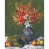 "Collection D`Art серия 11.000 Канва/ткань с рисунком ""Collection D`Art"" серия 11.000 60 см х 50 см 11860 Натюрморт с виноградом"