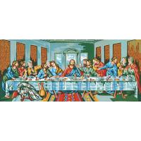 """Collection D`Art серия 12.000 Канва/ткань с рисунком """"Collection D`Art"""" серия 12.000 80 см х 60 см 12228 Тайная вечеря (50х82см)"""