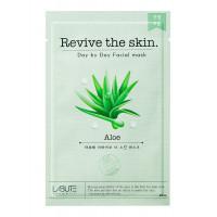 "COSM CO CM107 Тканевая маска для лица с экстрактом алоэ ""Revive the skin"" LABUTE CM107"