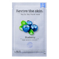 "COSM CO CM109 Тканевая маска для лица с экстрактом черники ""Revive the skin"" LABUTE CM109"