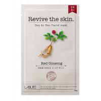 """COSM CO CM112 Тканевая маска для лица с экстрактом красного женьшеня """"Revive the skin"""" LABUTE CM112"""