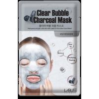 COSM CO CM201 Пенящаяся (пузырьковая) угольная маска для лица «очищающая» LABUTE CM201