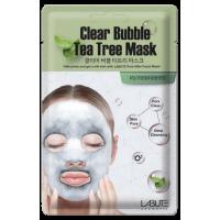 COSM CO CM202 Пенящаяся (пузырьковая) маска для лица «очищающая» с экстрактом зеленого чая LABUTE CM202