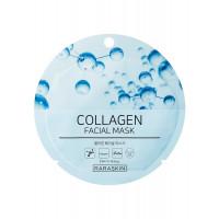 COSM CO RAA001(1) Коллагеновая тканевая маска для лица с коллагеном RARASKIN RAA001