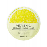 COSM CO RAA005 Коллагеновая тканевая маска для лица с витаминами RARASKIN RAA005