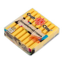 "Craft&Clay CCH ""Craft&Clay"" полимерная глина CCH 52 г 1008 лимонный"