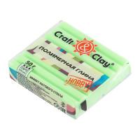 """Craft&Clay CCH эффект матового стекла """"Craft&Clay"""" полимерная глина CCH эффект матового стекла 50 г 1406 зеленое яблоко"""