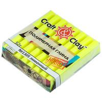 "Craft&Clay CCH флуоресцентный ""Craft&Clay"" полимерная глина CCH флуоресцентный 52 г 1305 лимонный"