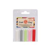 """Craft&Clay CCL """"Craft&Clay"""" Набор полимерной глины CCL 5 цв. 09 Ледяная вишня"""