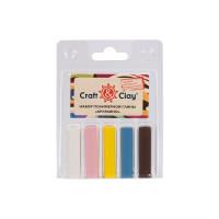 """Craft&Clay CCL """"Craft&Clay"""" Набор полимерной глины CCL 5 цв. 13 Арлекино"""