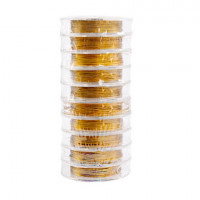 Прочие 7704885 Проволока с нейлоновым покрытием 0,3мм, цвет золото