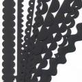BZ302747 Набор бумажных ленточек, цвет - черный