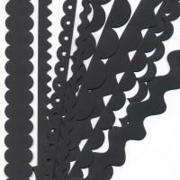 Прочие BZ302747 Набор бумажных ленточек, цвет - черный