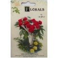 CF115/03 Букет роз из ленточек, красный