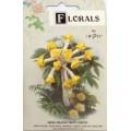 CF115/10 Букет роз из ленточек, желтый