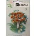 CF115/02 Букет роз из ленточек, золотой