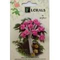 CF115/30 Букет роз из ленточек, насыщенно-розовый