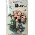 CF115/25 Букет роз из ленточек, персиковый