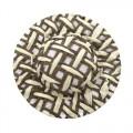 Шляпка соломенная, цвет - коричневый, 8 шт/упак