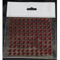 20360 Глазки клеевые,(красные,черный зрачок)