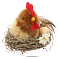 """Прочие 7724299 Миниатюра. """"Курица в гнезде """""""