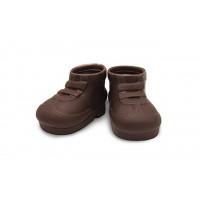 Прочие 28344 Ботинки резиновые, пара, цв. коричневый