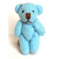 Прочие 23017 Игрушка. Мишка плюшевый, голубой